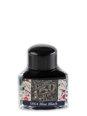 Diamine 150.Yıl 1864 Blue Black Şişe Mürekkep 40 ml - Thumbnail