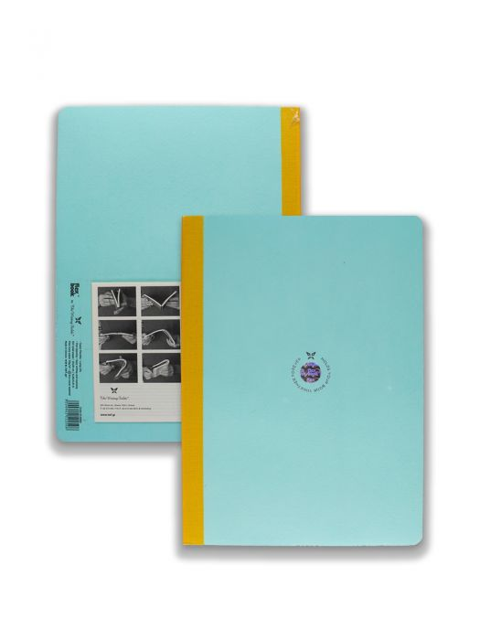 Flex Book Açık Mavi Smart Sarı Çizgili 21x29 cm