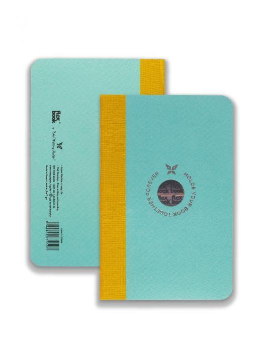 Flex Book Açık Mavi Smart Sarı Çizgili 9x14 cm