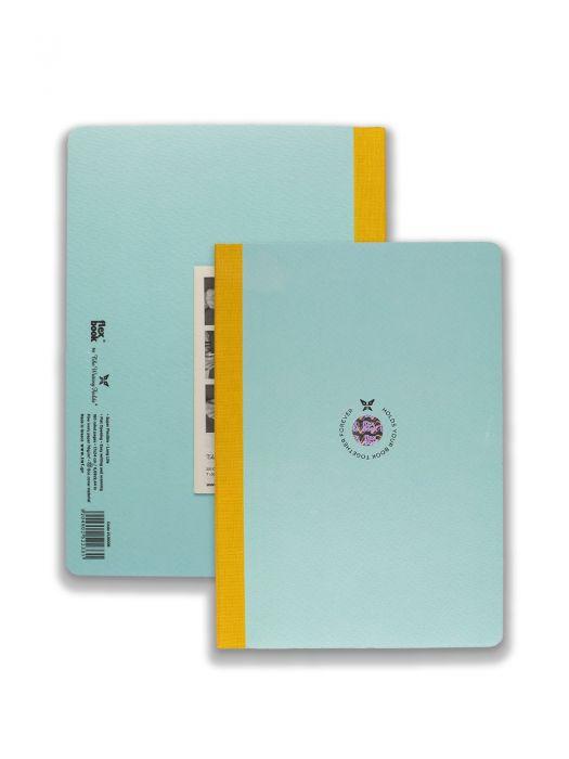 Flexbook Açık Mavi Smart Sarı Çizgili 17X24 cm