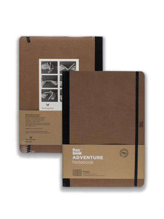 Flex Book Adventure Notebook Camel Çizgili 17x24 cm