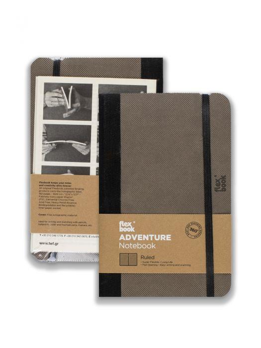 Flex Book Adventure Notebook Elephant Çizgili 9x14 cm