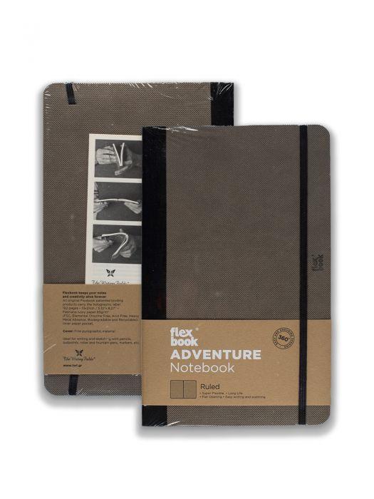 Flex Book Adventure Notebook Elephant Çizgili 13x21 cm
