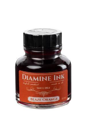 Diamine Blaze Orange Şişe Mürekkep 30 ml - Thumbnail