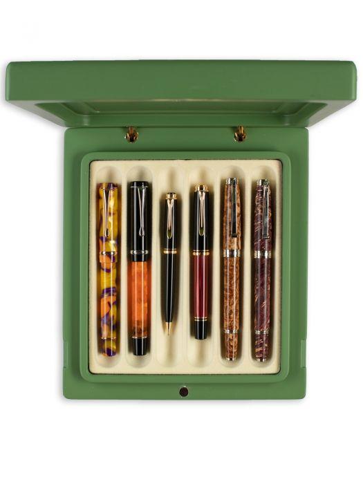 Nfp Design BLOKK Yeşil 6'lı Kalem Kutusu