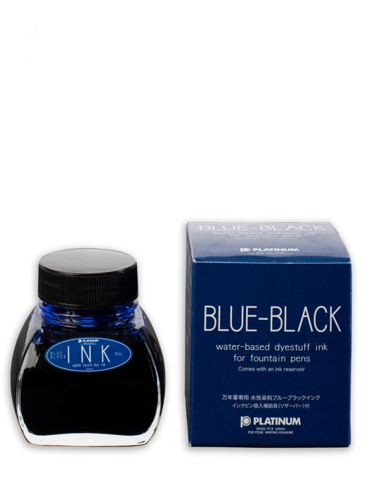 Platinum Blue Black Şişe Mürekkep 60 ml