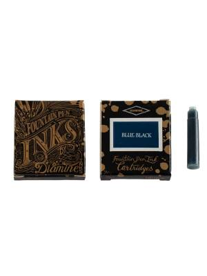 Diamine Blue Black 6'lı Kartuş - Thumbnail