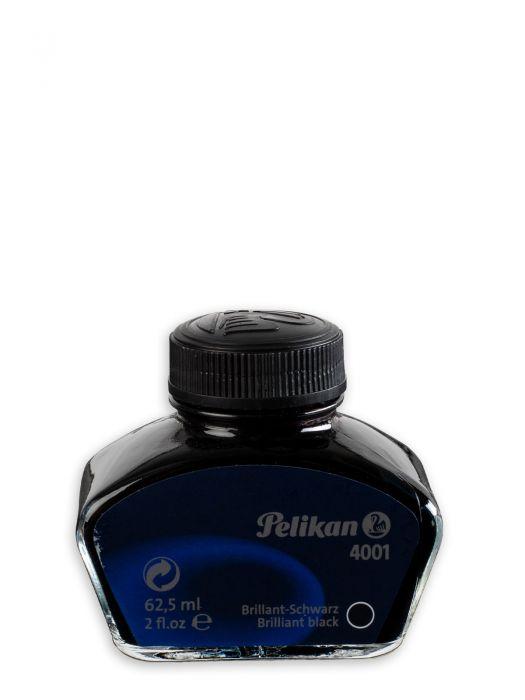 Pelikan 4001 Brilliant Black Şişe Mürekkep 62,5 ml