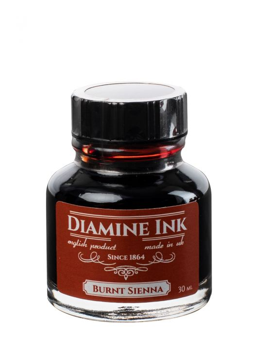 Diamine Burnt Sienna Şişe Mürekkep 30 ml