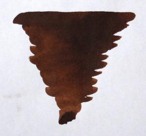 Diamine Chocolate Brown Şişe Mürekkep 80 ml - Thumbnail