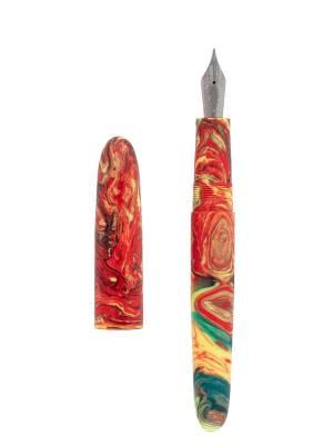 Kilk Cigar Shape Kırmızı Sarı Yeşil Dolma Kalem - Thumbnail