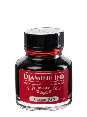 Diamine Classic Red Şişe Mürekkep 30 ml - Thumbnail