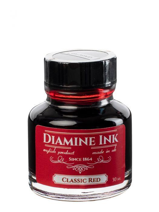 Diamine Classic Red Şişe Mürekkep 30 ml