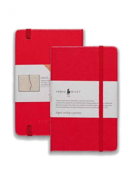 Fabio Ricci Code 1041 Kırmızı Kareli 9x14 cm