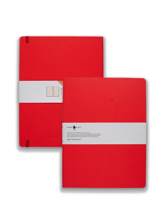 Fabio Ricci Elio Kırmızı Çizgisiz 19x25 cm