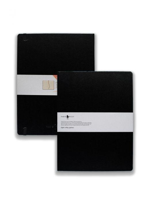 Fabio Ricci Elio Siyah Kareli 19x25 cm