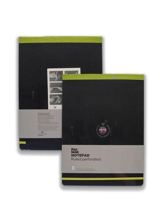 Flex Book Esnek Notepad Açık Yeşil Şeritli Çizgili 10x17 cm