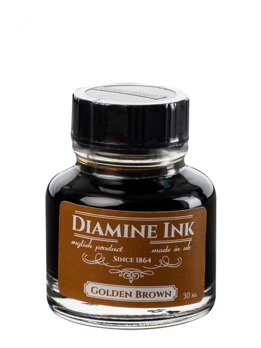 Diamine Golden Brown Şişe Mürekkep 30 ml