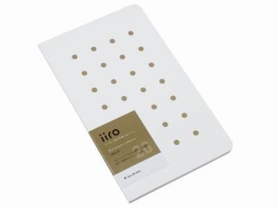 Kobeha Iiro 20 Bronze Dot Çizgili Defter - Thumbnail
