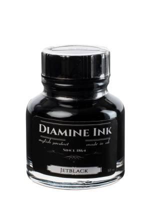 Diamine Jet Black Şişe Mürekkep 30 ml - Thumbnail