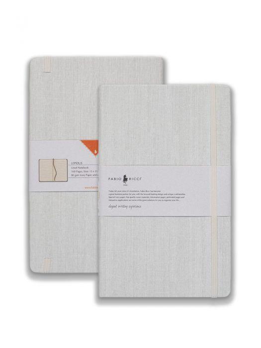 Fabio Ricci Lepidus Beyaz Çizgili 13x21 cm