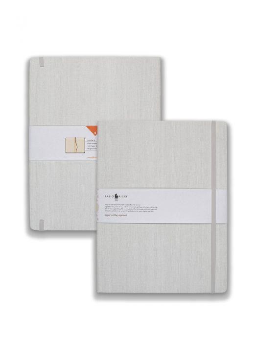 Fabio Ricci Lepidus Beyaz Çizgisiz 19x25 cm