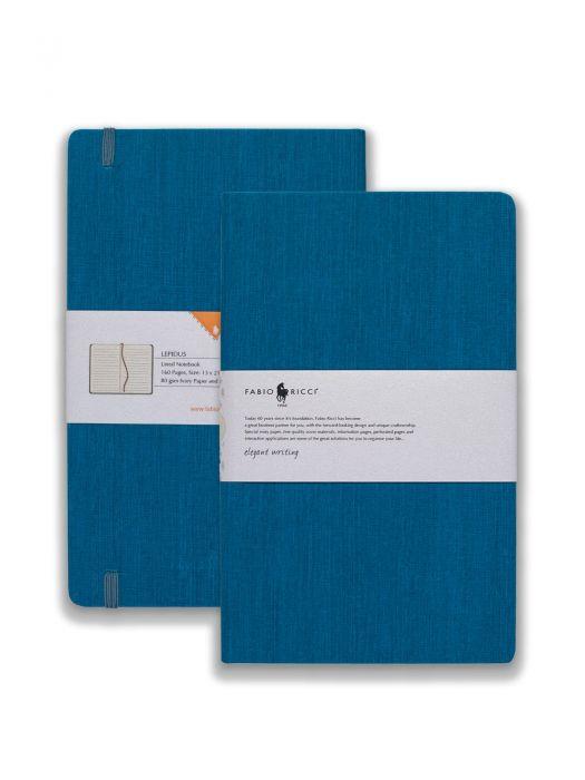 Fabio Ricci Lepidus Havacı Mavi Çizgili 13x21 cm
