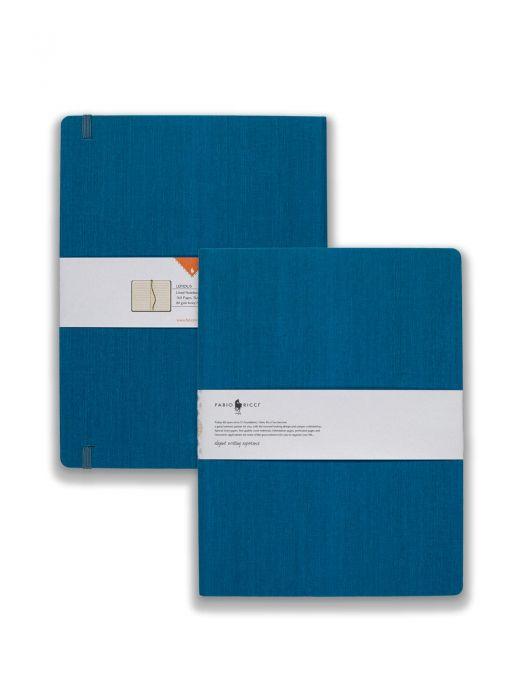 Fabio Ricci Lepidus Havacı Mavi Çizgili 19x25 cm
