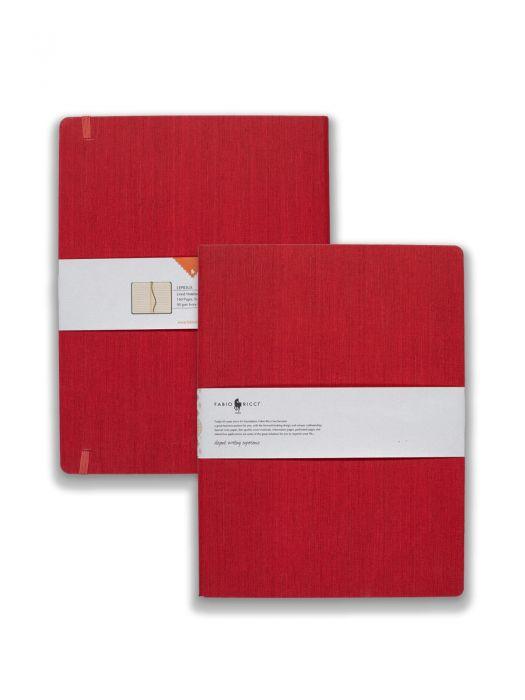 Fabio Ricci Lepidus Kırmızı Çizgili 19x25 cm