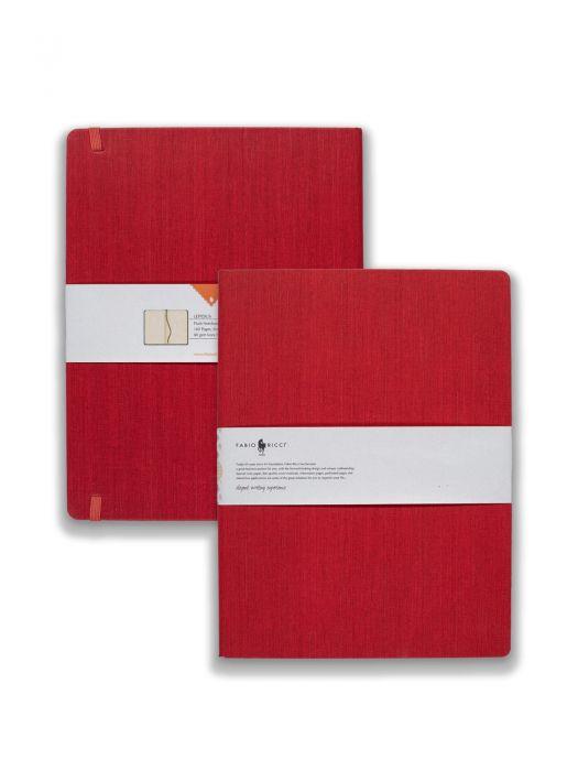 Fabio Ricci Lepidus Kırmızı Çizgisiz 19x25 cm