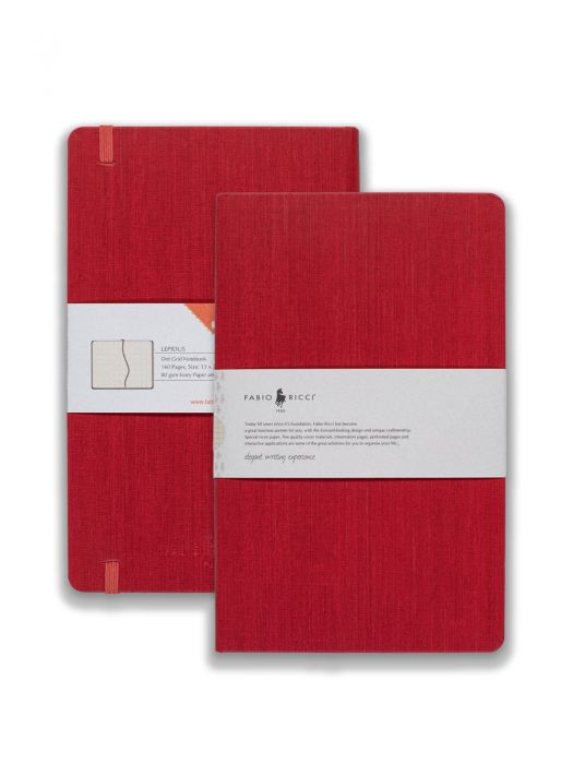 Fabio Ricci Lepidus Kırmızı Noktalı 13x21 cm