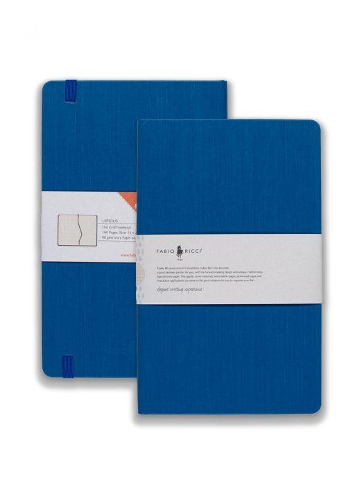 Fabio Ricci Lepidus Mavi Noktalı 13x21 cm