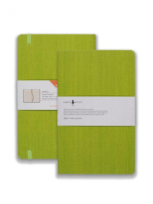 Fabio Ricci Lepidus Yeşil Kareli 13x21 cm