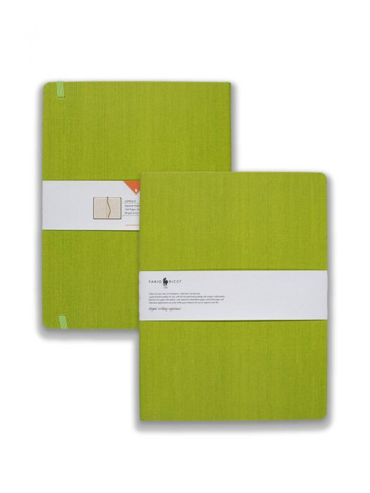 Fabio Ricci Lepidus Yeşil Kareli 19x25 cm