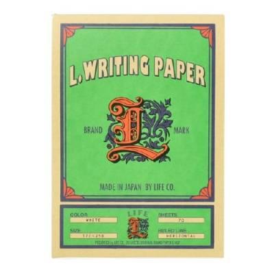 Life L.Writing Paper Yatay Çizgili Bloknot - Thumbnail