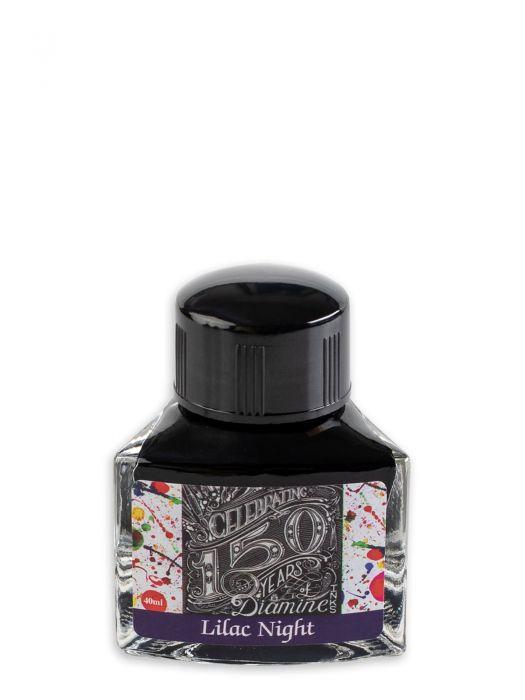 Diamine 150.Yıl Lilac Night Şişe Mürekkep 40 ml