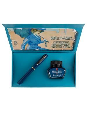 Pelikan M120 Iconic Blue M Dolma Kalem - Thumbnail