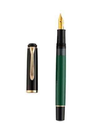 Pelikan M150 Yeşil Siyah Dolma Kalem - Thumbnail