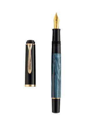 Pelikan M200 Blue Marble Dolma Kalem - Thumbnail