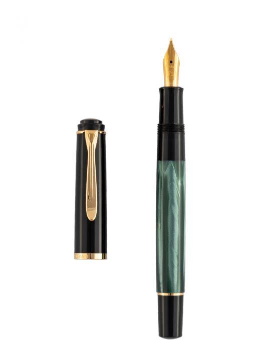Pelikan M200 Green Marble Dolma Kalem