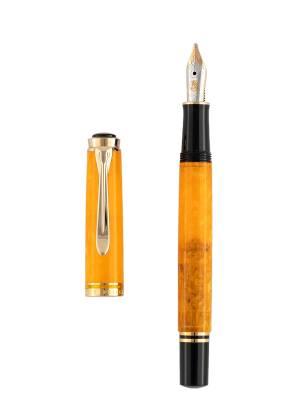 Pelikan M600 Vibrant Orange Dolma Kalem - Thumbnail