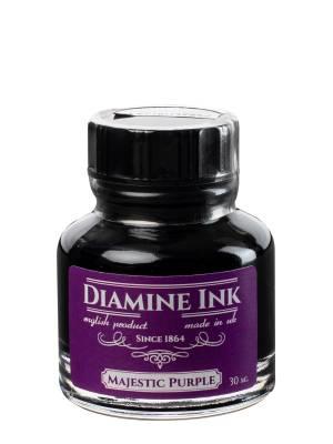 Diamine Majestic Purple Şişe Mürekkep 30 ml - Thumbnail