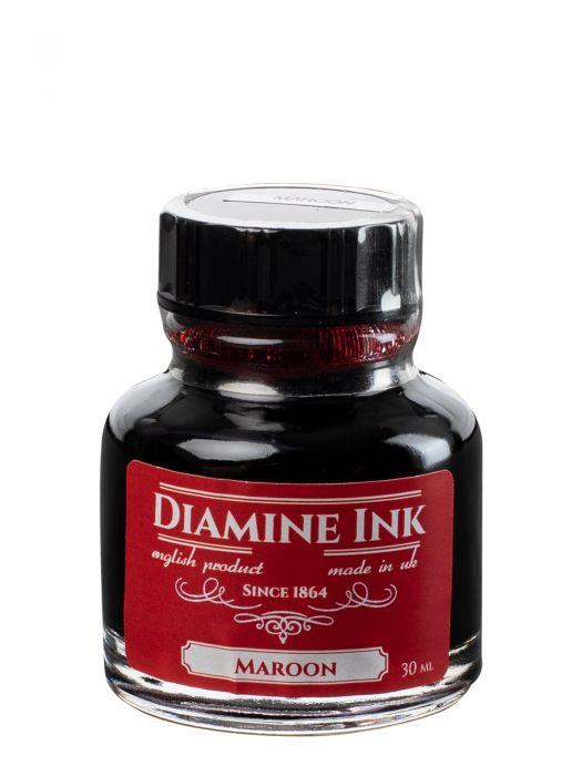 Diamine Maroon Şişe Mürekkep 30 ml