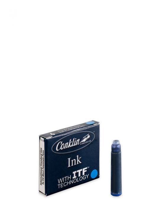 Conklin Mavi Kartuş 6'Lı