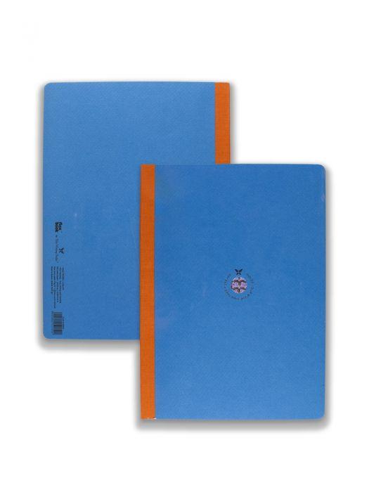 Flex Book Mavi Smart Turuncu Çizgili 21x29 cm