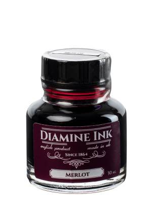 Diamine Merlot Şişe Mürekkep 30 ml - Thumbnail