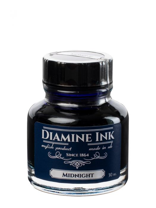 Diamine Midnight Şişe Mürekkep 30 ml
