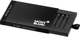 Montblanc Mystery Black 8'li Paket Kartuş