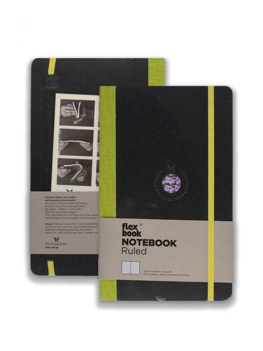 Flex Book Notebook Açık Yeşil Çizgili 13x21 cm