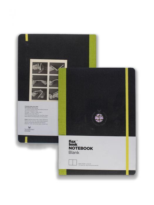 Flex Book Notebook Açık Yeşil Çizgisiz 17x24 cm